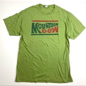 Savvy Mountain Dew Graphic Tee Large